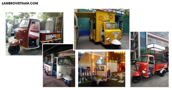 5 dòng xe lam cổ thiết kế độc quyền tại Lambrovietnam